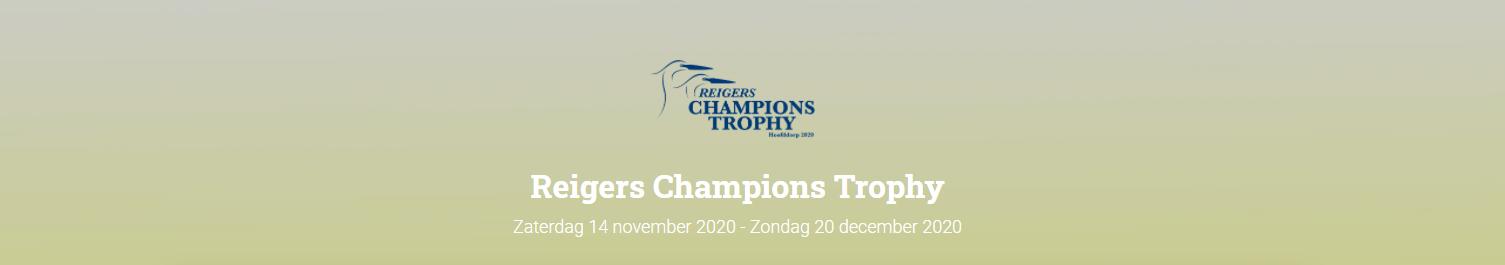 Click op de afbeelding en ga naar LIVE omgeving van de Reigers Champions Trophy
